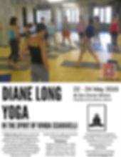 Diane Long yoga, Vanda Scaravelli, yoga workshop, Athens Greece