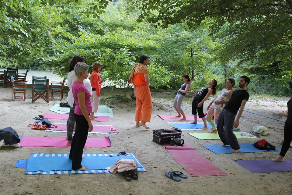 Aherondas yoga river retreat 2015