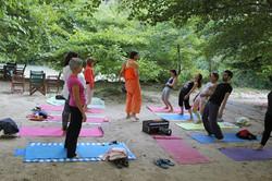 Aherondas yoga river retreat 2015
