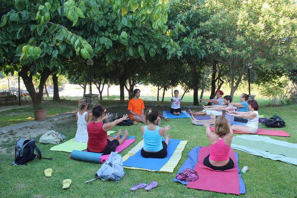 yoga retreats greece, vijaya yoga