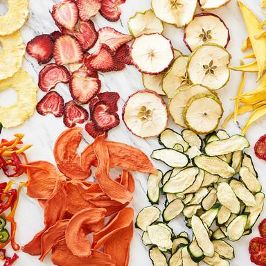 DRIED FRUIT + VEGETABLES
