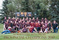 NWAA Provincial Champions 2017