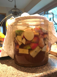 Making Apple Cider Vinegar (ACV)