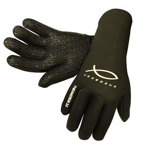 Jak Boeno Quartz Black Gloves