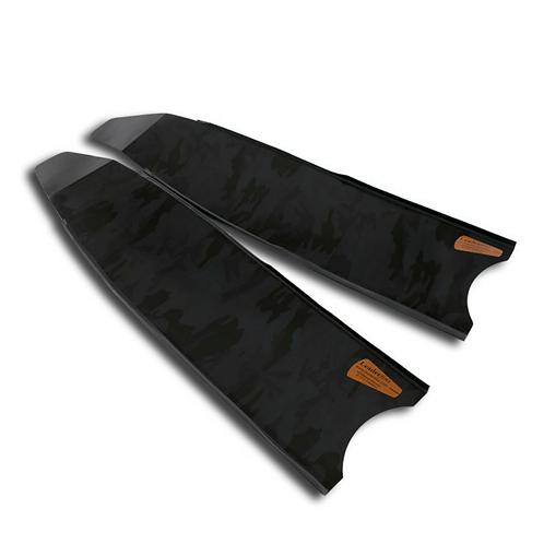 Leaderfins Black Camoflauge Fiberglass