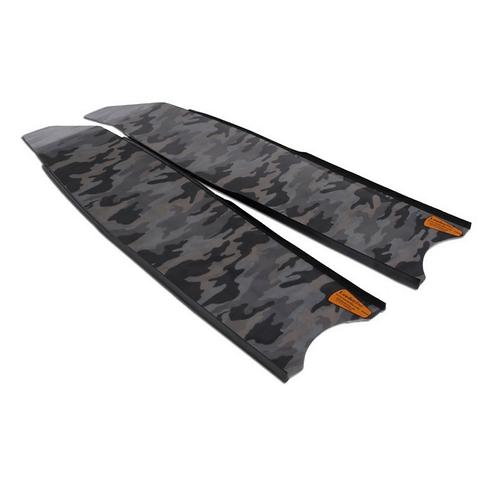 Leaderfins Gray Camoflauge Fiberglass