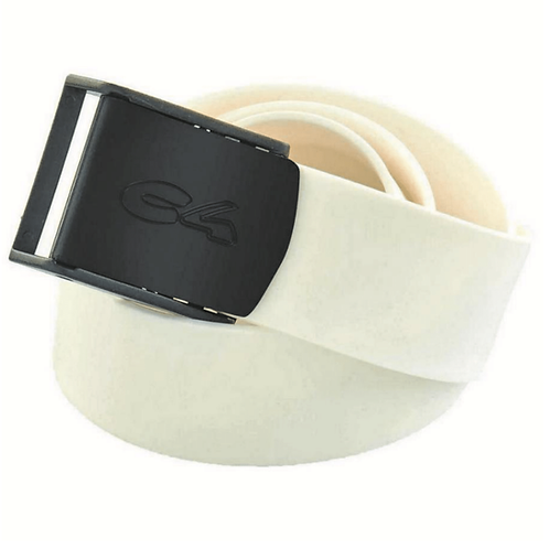 C4 White Silicone Belt with Nylon Buckle