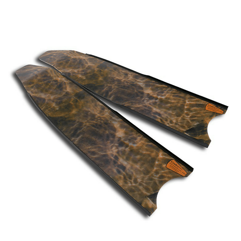 Leaderfins Brown Camoflauge Fiberglass