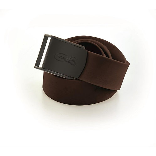 C4 Brown Silicone Belt with Nylon Buckle