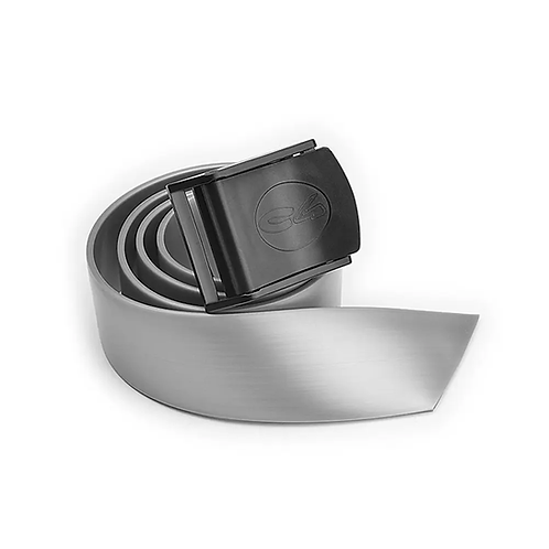 C4 Silver Silicone Belt with Nylon Buckle