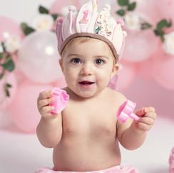 fotos globos cumpleaños bebe