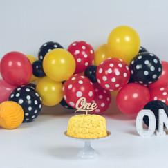 smash cake sonrisas de algodon
