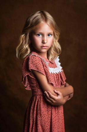 retrato niña madrid