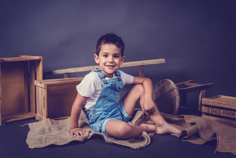 fotos niños en estudio