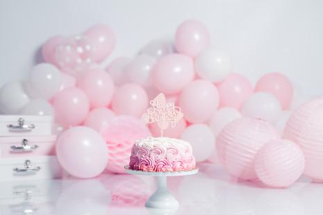 decorado smash cake