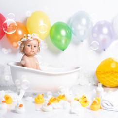 fotos bebes cumpleaños