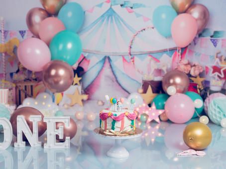 Fotos Cumpleaños Bebé , Smash Cake y Tarta. Madrid