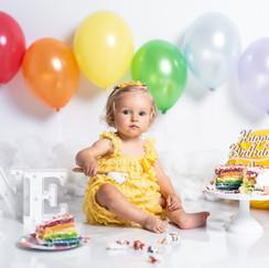 sesion fotos cumpleaños bebe
