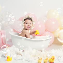 fotos cumple y bañerita