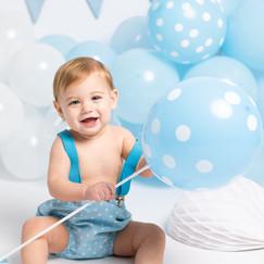 smash cake fotos cumpleaños bebe