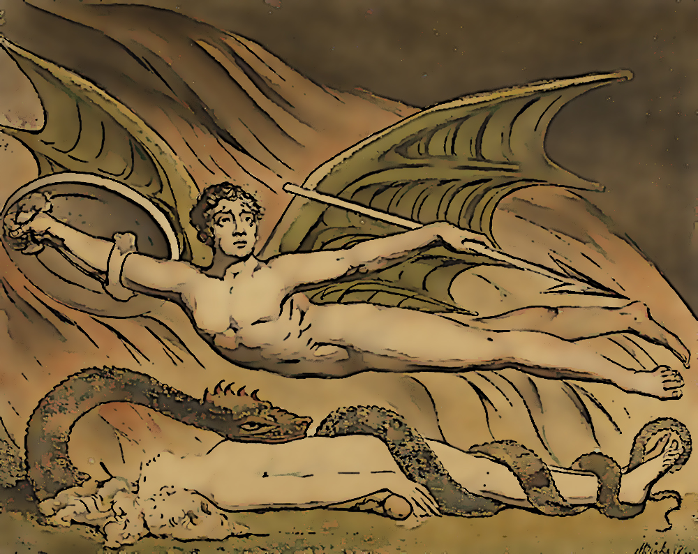 Satan Exulting Over Eve