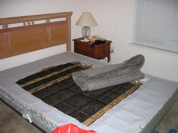 decomposition affected mattress