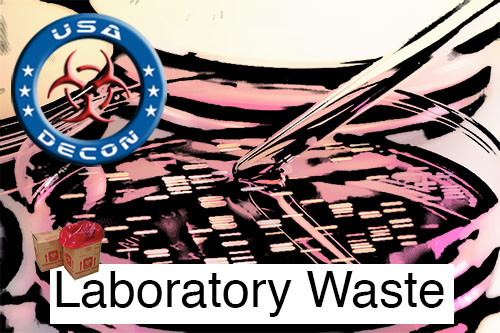 dfw medical waste disposal from a lab