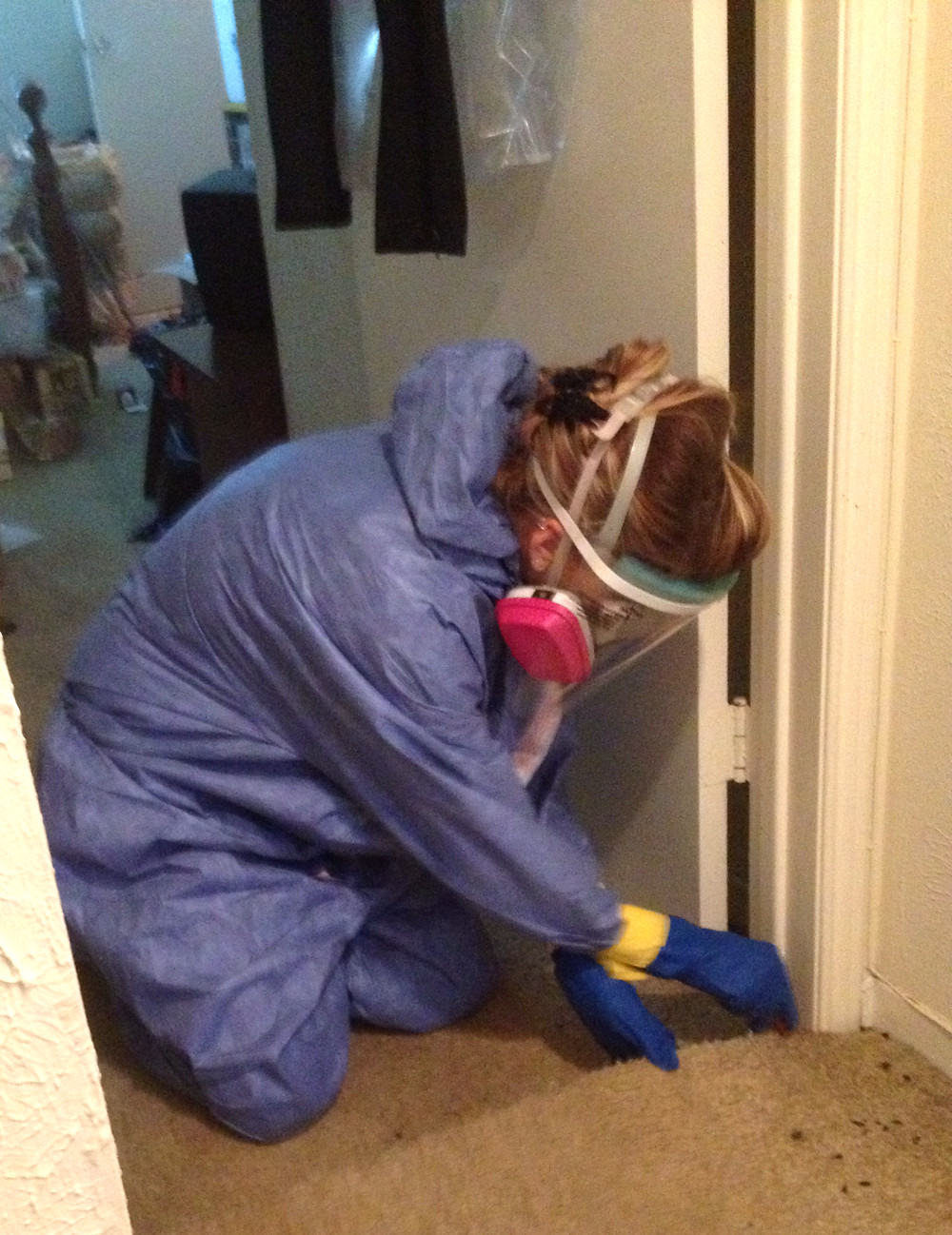 dfw medical waste disposal, human decomposition cleanup in an apartment