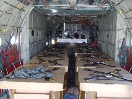 Yuma Proving Ground (YPG) Test Flight