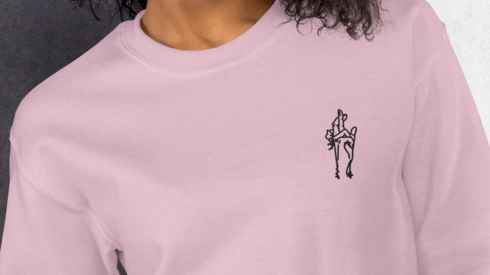 Jujutsu Kaisen Embroidered Unisex Crew Neck Sweatshirt (S - 5 XL)