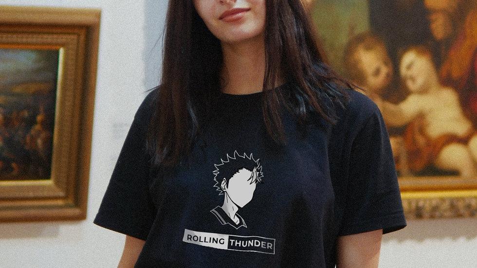 Nishinoya Rolling Thunder Unisex T-Shirt (S - 3 XL)