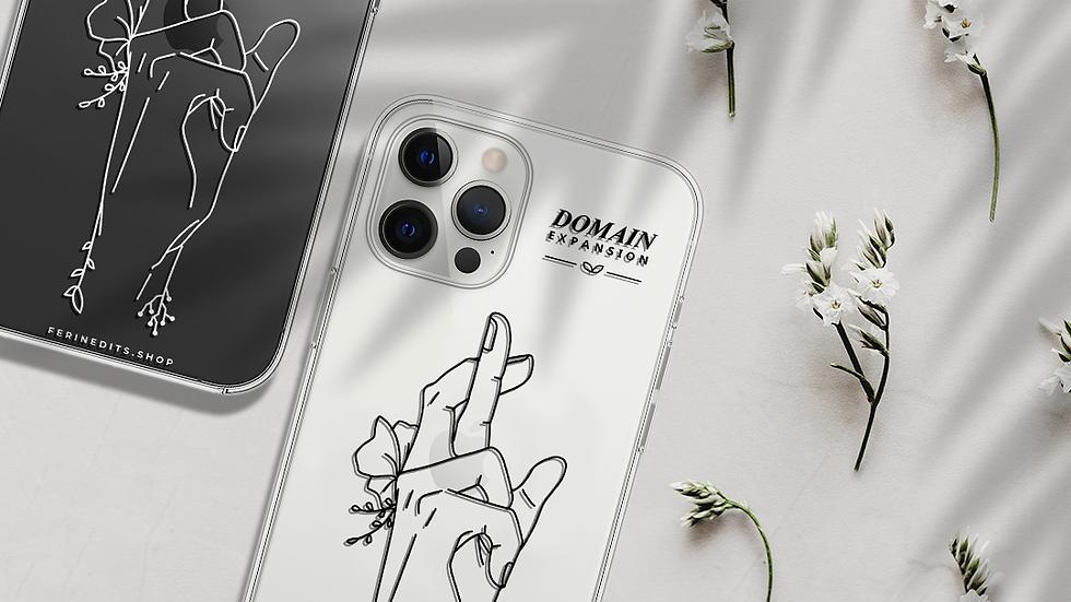 Jujutsu Kaisen Minimalist Phone Case (iPhone & Samsung)