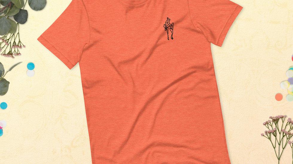 Jujutsu Kaisen Embroidered Unisex T-Shirt