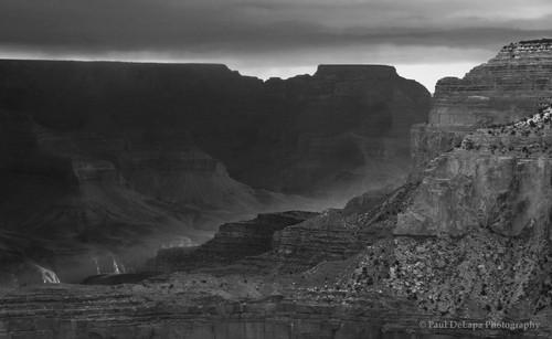 Grand Canyon bw #8