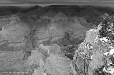 Grand Canyon bw #7