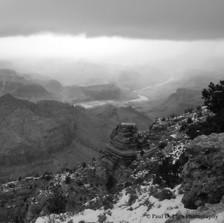 Grand Canyon bw #1