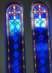 stained glass church panels Tasmpa FL