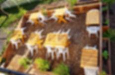 Terrasse de L'imposteur resto traiteur végé