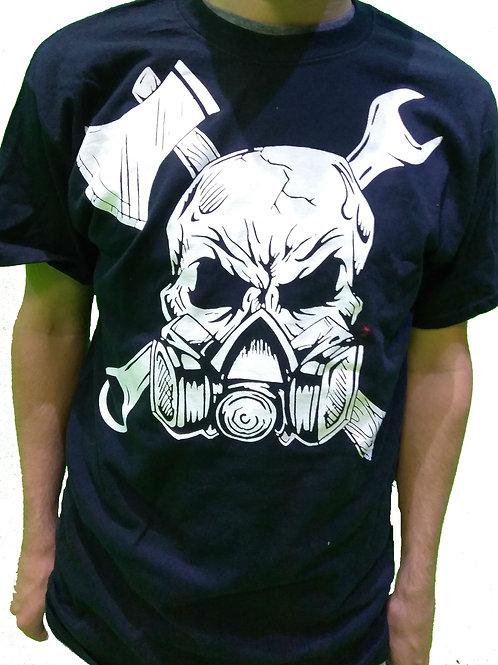 Gassed Up Skull T-Shirt