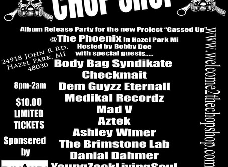 Gassed Up Record Release party is Going to be a bash.