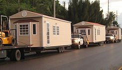 Delivery of Home Trailers