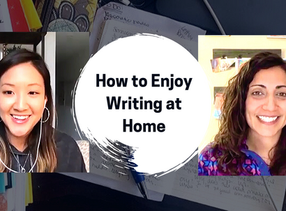 How to Enjoy Writing at Home