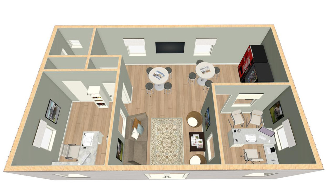 Double Wide Office