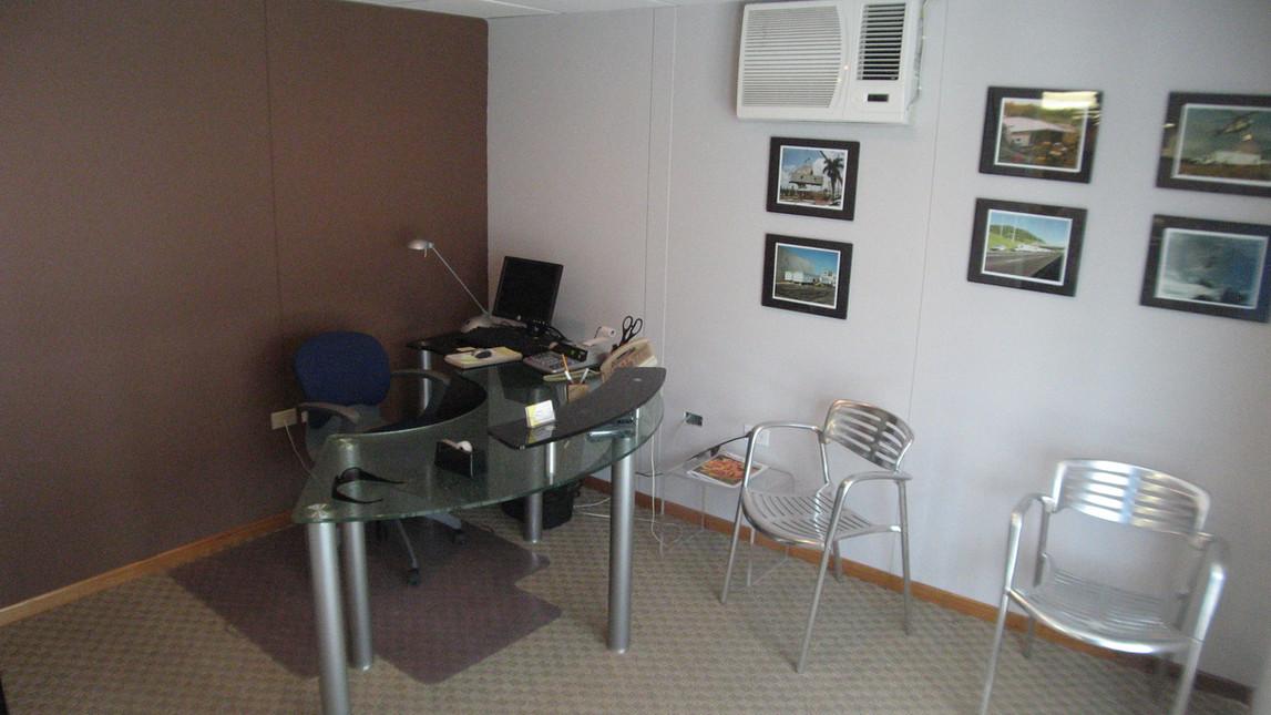 Office Trailer Interior