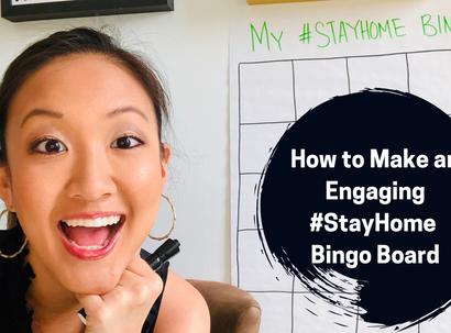 Making #StayHome Bingo Boards