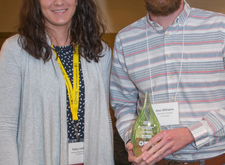 Alex Williams Honored for Environmental Sustainability