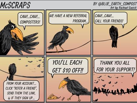McScraps - The Referral Bird!