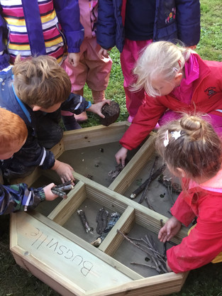 Gretton Primary School Ecozone Funded