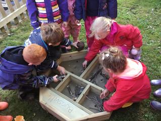 Gretton Primary School Ecozone Funded