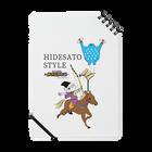 HIDESATO STYLE ノート
